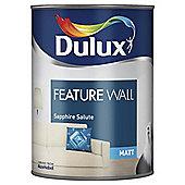 Dulux Feature Wall Matt Emulsion Paint, Sapphire Salute, 1.25L