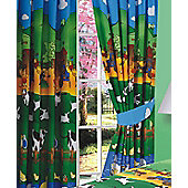 Farmyard Friends 100% Cotton Curtains, 72s