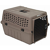 Petmate Large Deluxe Vari Jr. Dog Kennel in Dark Taupe