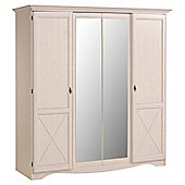 Parisot Marion 4 Door Wardrobe