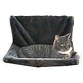 Kattens No Limits Radiator Cat Bed - Black