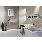 Brighton Truffle Ceramic Wall Tile 248x398mm
