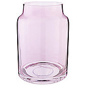 Tesco Hurricane Candle Jar, Lilac