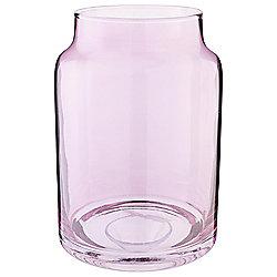 Tesco Hurricane Candle Jar, Lilac