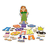 Melissa Doug Magnetic Dress Up Set Maggie Leigh