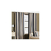 Value by Wayfair Lupine Lined Ring Top Curtain - 229 cm W x 229 cm H - Black