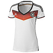 2014-15 Germany Home World Cup Womens Shirt - White