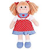 Bigjigs Toys Emily 34cm Doll