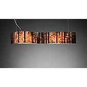 Arturo Alvarez Vento Suspension Lamp - Large - Brown Combination