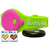 My Buddy Tag Green with Free App Bluetooth Toddler / Child Proximity & Water Safety Alarm Wristband