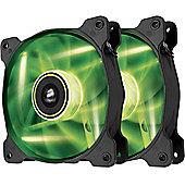 Corsair Air Series SP120 GREEN LED High Static Pressure Fan Dual Pack