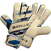 Sells V. V. Pro Aqua Goalkeeper Gloves - White