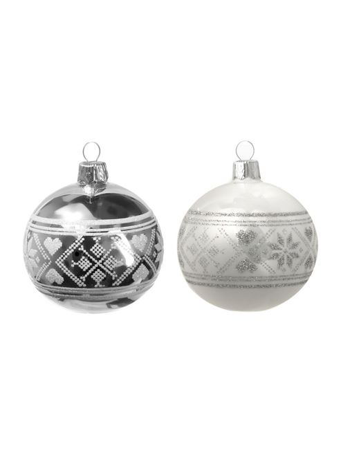 Linea Woodland Charm Fairile Bauble In Silver New
