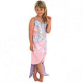 Rubies Fancy Dress Costume - Mermaid Girls Costume Medium 5-6 Years
