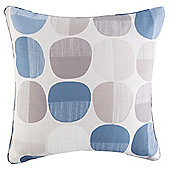 Pebble Print Cushion 43 x 43, Blue
