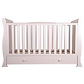 Sweet Dreams Nursery Collection Izzy Cot (White)