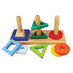 Bigjigs Toys BJ376 Twist and Turn Puzzle