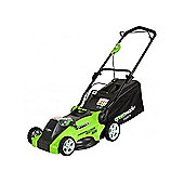 Green works 40v Lawn Mower with 2x2ah batteries and Charger