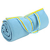 Family Fleece Picnic Blanket - Turquoise
