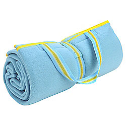 Family Fleece Picnic Blanket - Turquoise