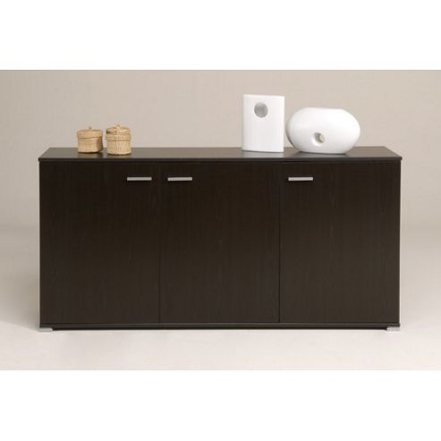 Parisot Initial Three Door Sideboard in Wenge