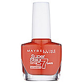 Maybelline SuperStay 7 Days Nail Colour 470 Orange Punch