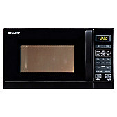 Sharp Microwave Oven with Grill R662KM Compact 20L, Black