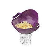 Drain & Serve Colander Purple