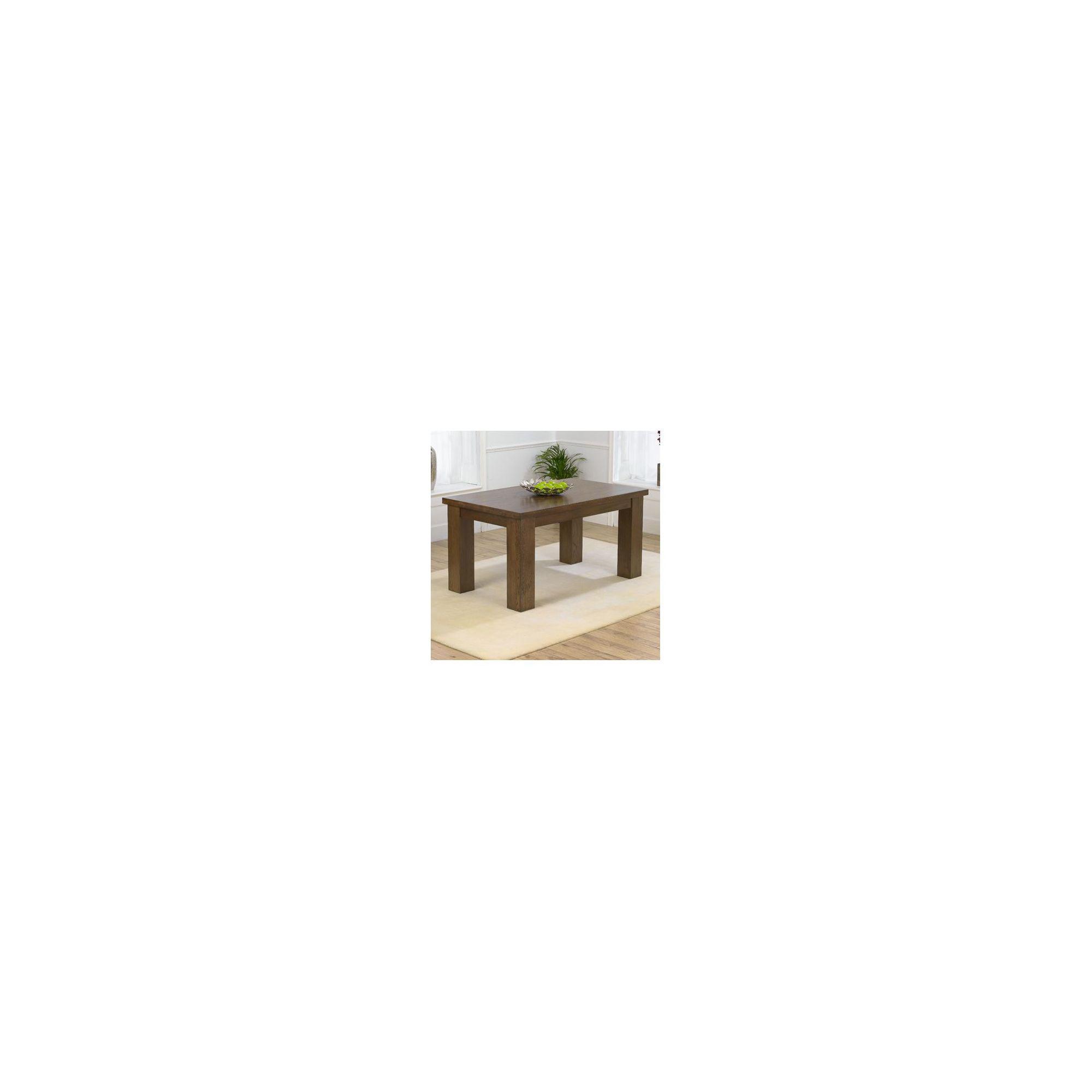 Mark Harris Furniture Barcelona Oak Dining Table - 180 cm