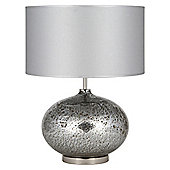 Pacific Lifestyle 1 Light Complete Volcanic Table Lamp - Mirror