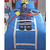 Fireman, Fire Rescue When I Grow Up Toddler Bedding