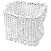 M?ve Tube Cube Basket (Set of 2) - White Deluxe