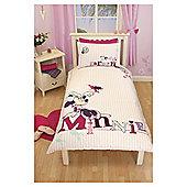 Minnie Mouse Hummingbird Duvet Cover Set