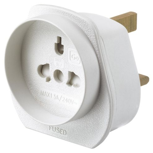 Go Travel Foreign Visitor to UK Travel Adapter Plug