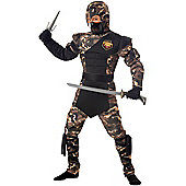 Child Ninja Outfit Large