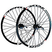 Wilkinson Mach 1 MX / Deore Disc Front Wheel Black