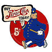 Pepsi-Cola Buy Pepsi Cola Today Pepsi Cop Tin Sign