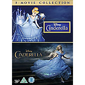 Cinderella Double Pack (2 Movie Collection)