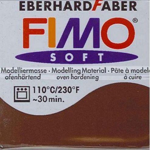 Fimo Soft 56G Chocolate