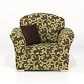 Kendal Chair - Lime Scroll