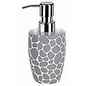 Spirella Darwin Pebble Soap Dispenser - Grey