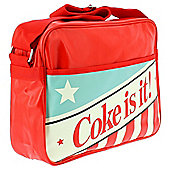 Coke Varsity Retro Messenger Bag