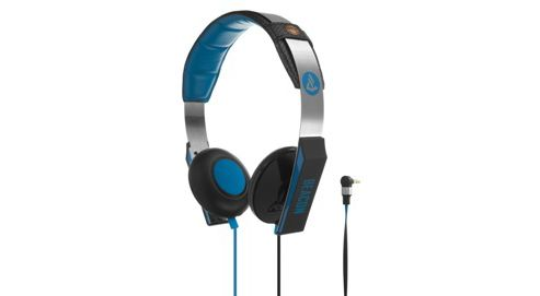 Beacon Orion On-Ear Headphones with Mic & Remote - Blue/Black