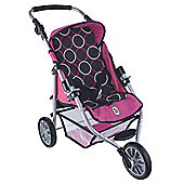 Chic Toys 3 Wheel Switch Buggy Circles