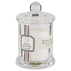Tesco Apothecary Rose and Black Vanilla Candle in a Small Filled Jar