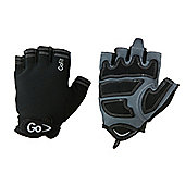GoFit Men's Cross Training Glove Medium Black