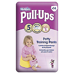 Huggies Pull-Ups Potty Training Pants - Size 5 - Girl - 14 Pack