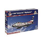 Model Kit - F-86F Sabre Jet Skyblazers 1:32 Aircraft - Italeri