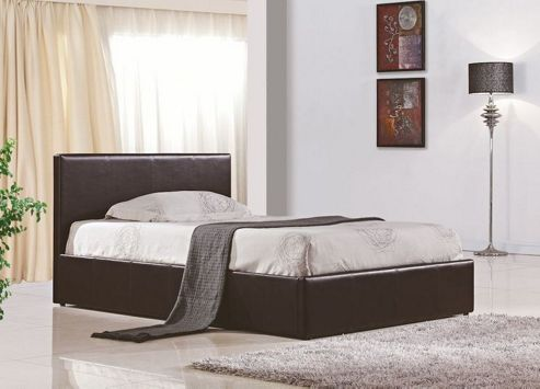 Birlea Berlin Ottoman Bed Frame - Brown - Small Double (4')