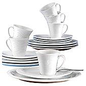 Seltmann Weiden Allegro White 18 Piece A Coffee Set